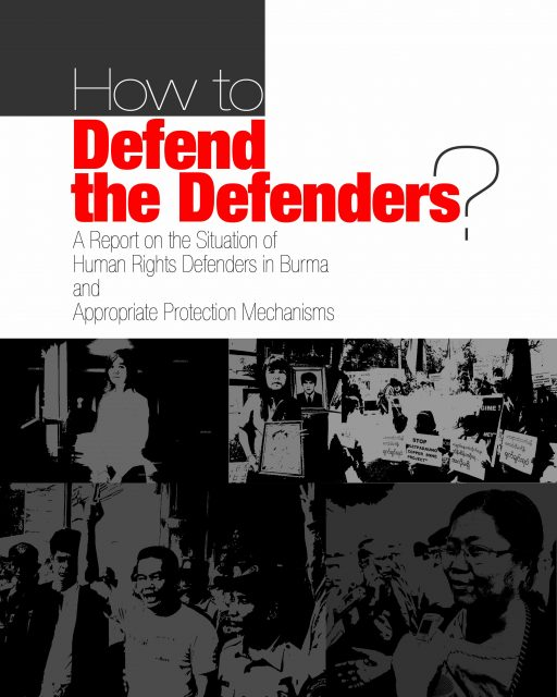 How to defend the defenders report